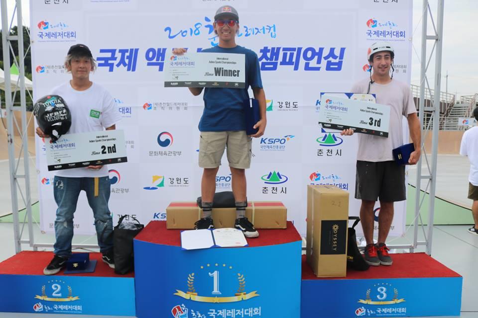 韓国 春川ASC国際大会 銀メダル