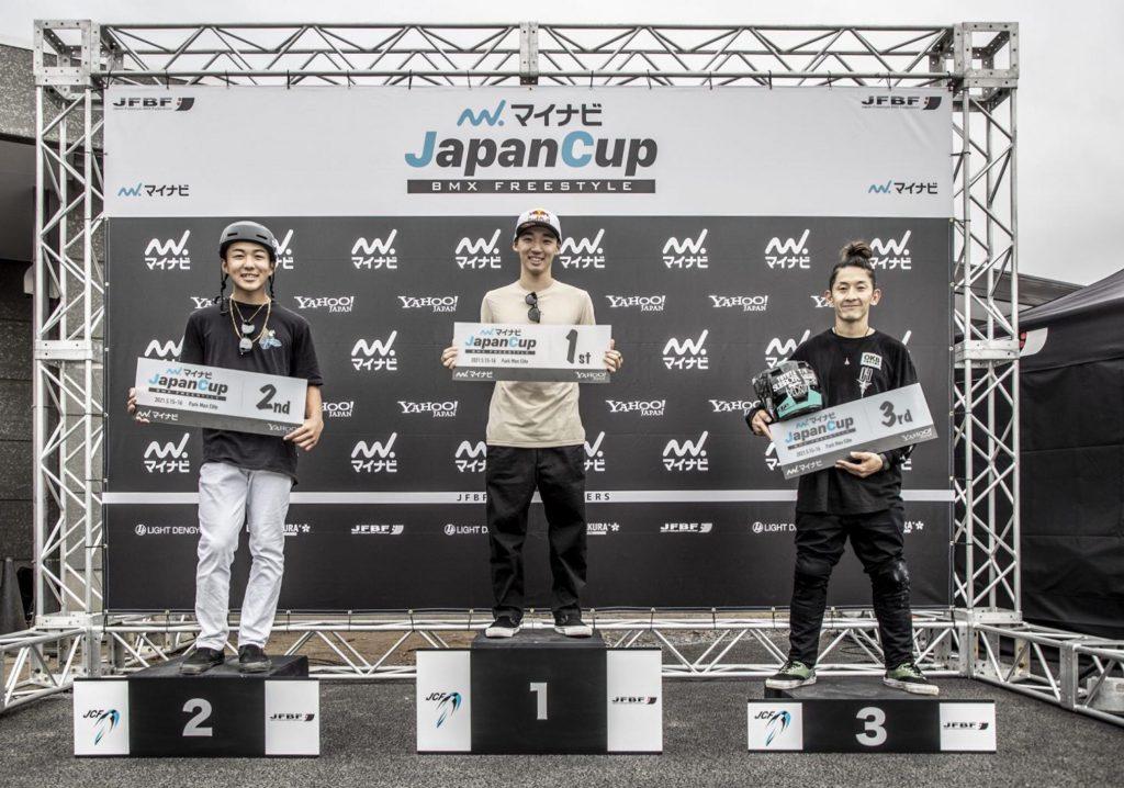 マイナビ JAPAN CUP エリート3位
